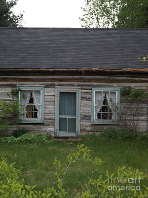 Screen Doors Photograph - There Once Was A House With A Family by Brenda Brown