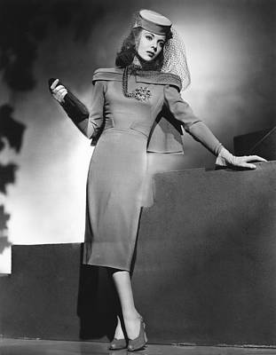 1940s Movies Photograph - They Drive By Night, Ida Lupino, Warner by Everett