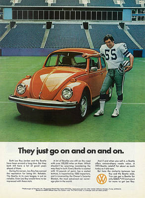 Volkswagen Beetle 1972 Digital Art - They Just Go On And On by Georgia Fowler