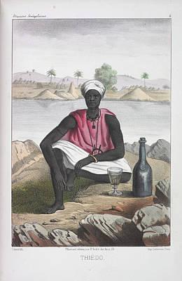 Thiedo Print by British Library
