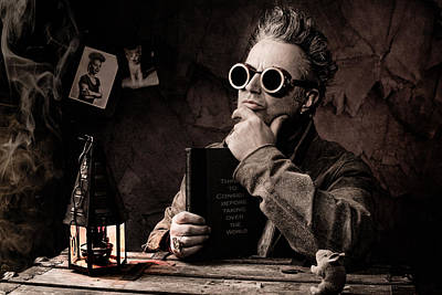 Self-portrait Photograph - Things To Consider - Steampunk - World Domination by Gary Heller