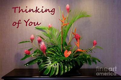 Photograph - Thinking Of You - Pink Ginger by Mary Deal