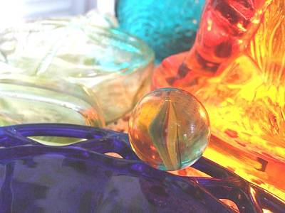 Photograph - Third Of Marbles by Teri  Haley