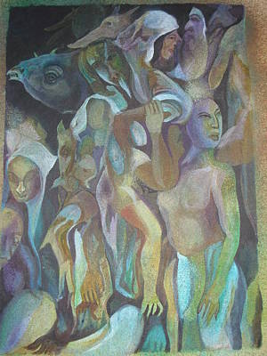 Third World Incarnation Print by Prasenjit Dhar