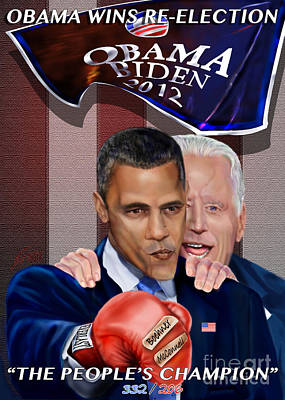 Joe Biden Painting - This Is A Big ------- Deal by Reggie Duffie