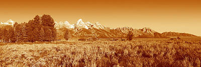 Old West .america Photograph - This Is Grand Teton National Park by Panoramic Images