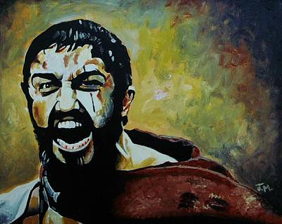 This Is Sparta Print by Jeremy Moore