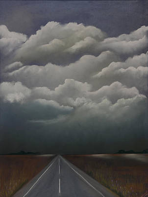 This Menacing Sky Print by Cynthia Lassiter
