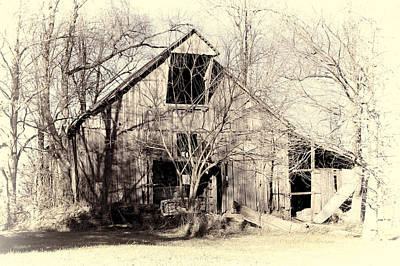 This Old Barn Print by Cricket Hackmann