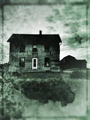 Old House Photograph - This Old House by Jeff Klingler
