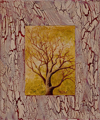 Double Image Painting - This Old Tree by Darice Machel McGuire