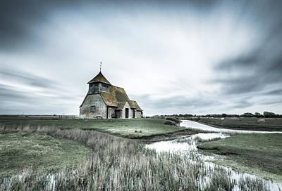 Landscape Photograph - Thomas A Becket Church - Fairfield by Ian Hufton
