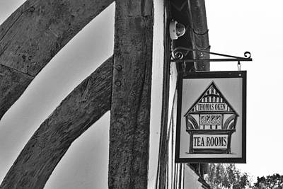 Tea Room Photograph - Thomas Oken Tea Rooms by Georgia Fowler