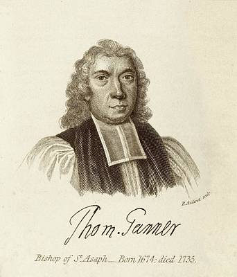 Clergy Photograph - Thomas Tanner by Middle Temple Library
