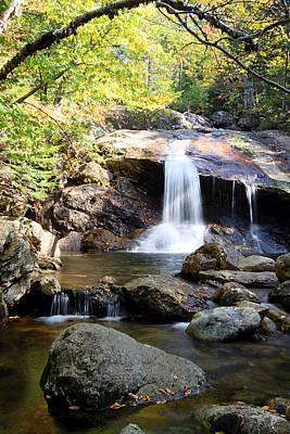 Nature Photograph - Thompson Brook Falls by Brett Pelletier