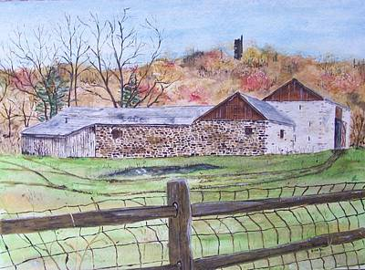 Thompson Neely Barn Print by Peter Kundra