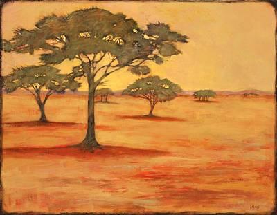 Thorn Tree Print by Sue  Darius