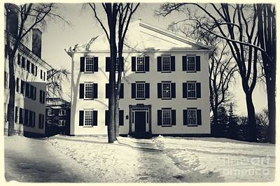 Dormitories Photograph - Thornton Hall Dartmouth College by Edward Fielding