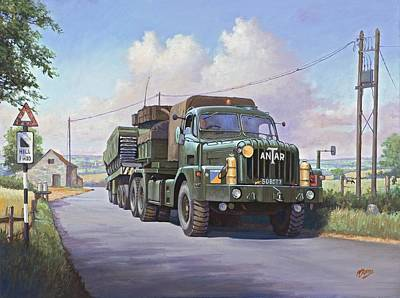 Thornycroft Antar. Print by Mike  Jeffries