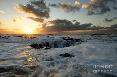 Flowing Wells Photograph - Thors Well Truly A Place Of Magic 4 by Bob Christopher