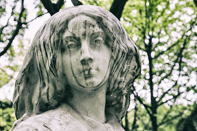 Paris Surreal Parks Photograph - Thoughts Of Serenity by Georgia Fowler