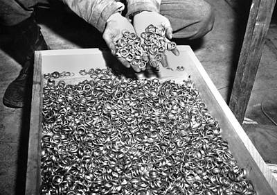 Genocides Photograph - Thousands Of Gold Wedding Rings Removed by Everett