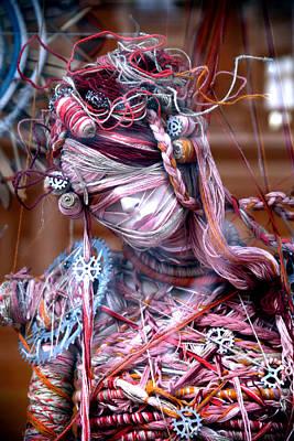 Jez Self Photograph - Thread Bare by Jez C Self