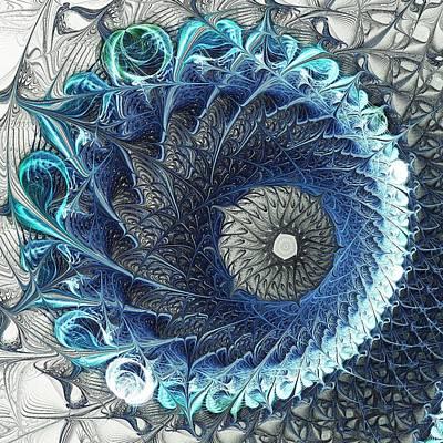 Fine Thread Digital Art - Threadwork by Anastasiya Malakhova