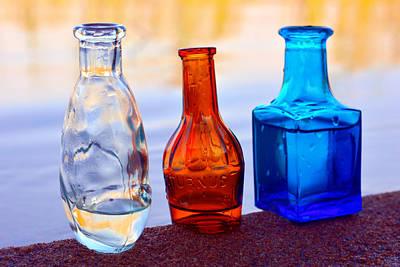 Three Bottles  Original by Toppart Sweden