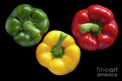 Three Colors Print by Heiko Koehrer-Wagner