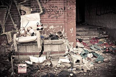 Abandoned Photograph - Three Friends by Priya Ghose