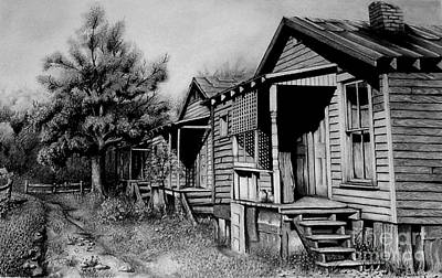 Three Graces Black And White Original by David Neace