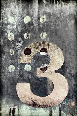 Cute Digital Art - Three Painting by Carol Leigh