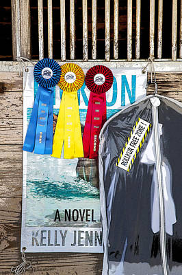 Eventing Photograph - Three Ribbons Here by Rich Franco