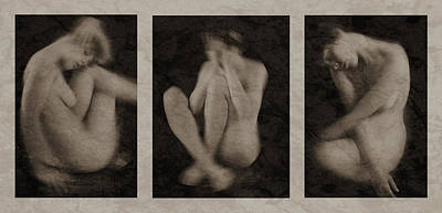 Three Stages Of A Broken Heart Print by Mayumi  Yoshimaru