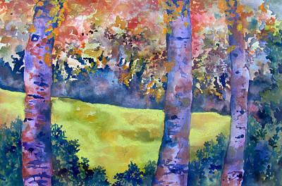 Three Trees Original by James Huntley