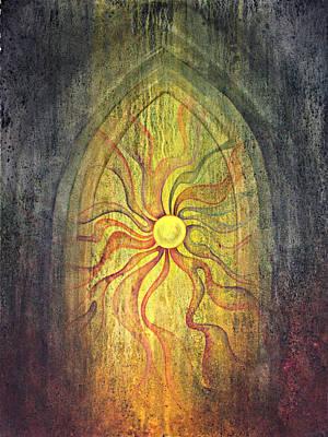 Inktense Painting - Threshold by Ellen Starr