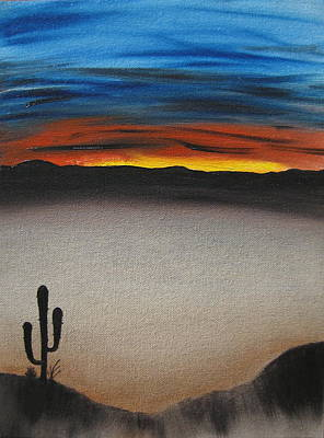 Thriving In The Desert Print by Sayali Mahajan