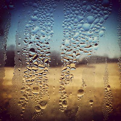 Through Glass 1 Print by Natalie Lizza