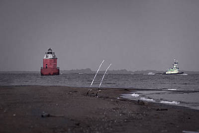 Chesapeake Bay Photograph - Through The Dusk by Benjamin DeHaven