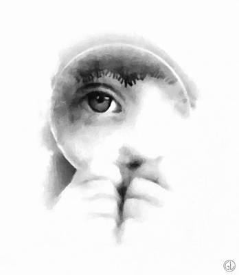 Child Digital Art - Through The Looking-glass by Gun Legler