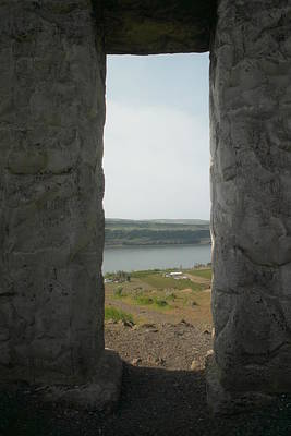 Stone Buildings Photograph - Through Those Windows by Jeff Swan