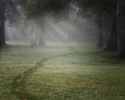 Thru The Fog Print by Bill Wakeley