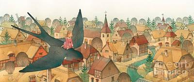Thumbelina02 Print by Kestutis Kasparavicius