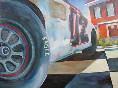 Thunder Painting - Thunder Road by Susan Richardson