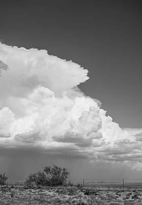 Sky Photograph - Thunderstorm Over North Texas by Nathan Hillis