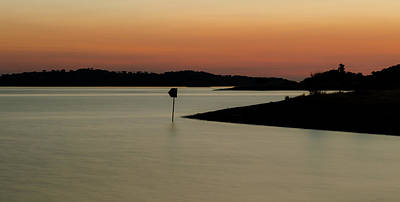 Alqueva Photograph - The Lake After Sunset by Alexandre Martins