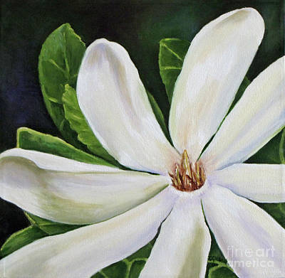 Tiare Painting - Tiare Flower 2 by Jan Gibson