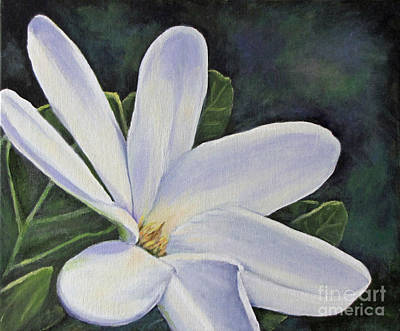 Tiare Painting - Tiare Flower by Jan Gibson