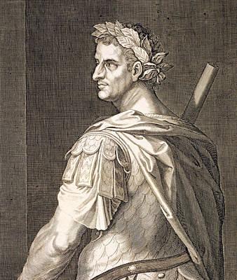 Wreath Painting - Tiberius Caesar by Titian